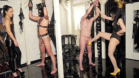 Ballbusting competition part 1