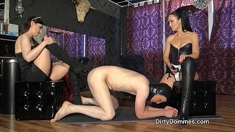 Punished boot fucked slave part 1